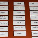 Activity of the Week – Montessori Thanksgiving Noun Sorting Work
