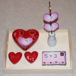 Montessori-Inspired Bead-and-Pipe-Cleaner Valentine Math Activities