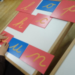 Montessori Monday – Inexpensive and DIY Sandpaper Letters