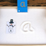 Montessori-Inspired Snowman Letter Activities at PreK + K Sharing