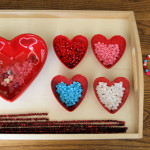 Activity of the Week – Turning Valentine Crafts into Montessori-Oriented Activities