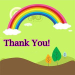 Thank You's for April 2012
