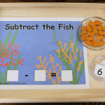 Montessori-Inspired Ocean Math Activites at PreK + K Sharing