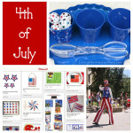 Montessori Monday – Montessori-Inspired 4th of July Activities