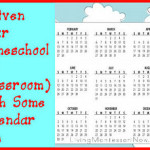 Enliven Your Homeschool with Some Calendar Fun