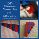 Montessori Monday – DIY Number Rods and Alternatives