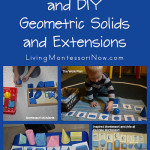 Montessori Monday – Inexpensive and DIY Geometric Solids and Extensions