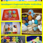 Montessori Monday – Montessori-Inspired Easter Activities