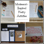 Montessori-Inspired Poetry Activities