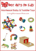 Best Gifts for Kids - Montessori Baby and Toddler Toys