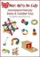 Best Gifts for Kids - Montessori-Friendly Baby and Toddler Toys