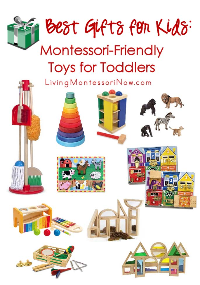 Best Gifts For Kids Montessori Friendly Toys Toddlers
