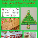 Christmas Countdown Activities {with Lots of Free Printables}