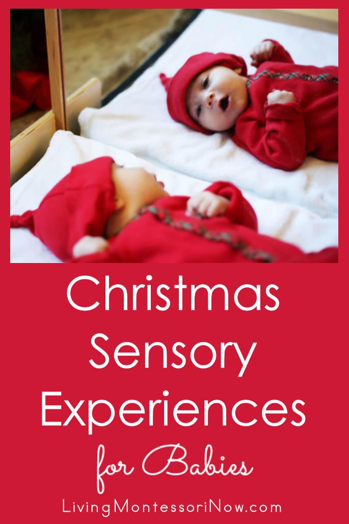 Christmas Sensory Experiences for Babies