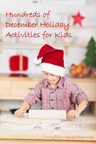 Hundreds of December Holiday Activities for Kids