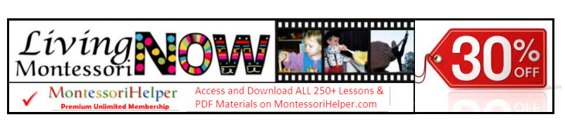 LIving Montessori Now MontessoriHelper Special Offer