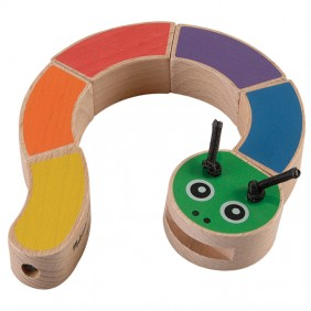 Melissa & Doug Wooden Caterpillar from For Small Hands