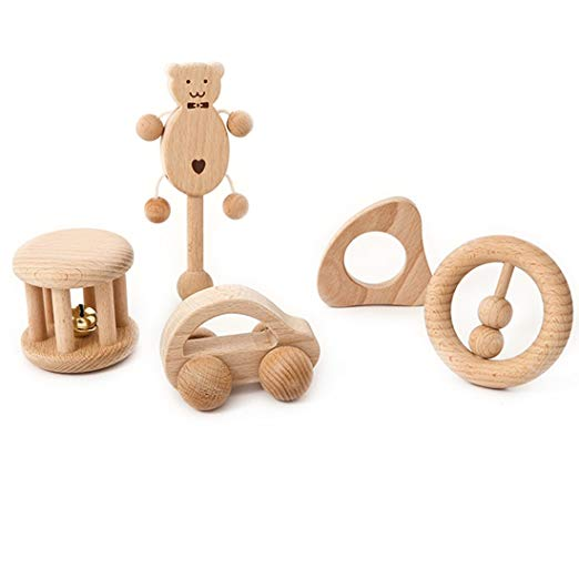 Montessori Infant Toys Set from Amyster