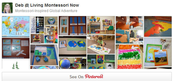 Montessori-Inspired Global Adventure Pinterest Board