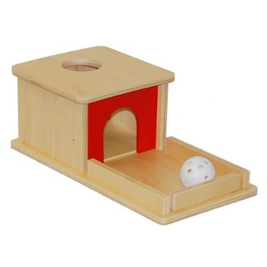 Montessori Object Permanence Box from Amazon
