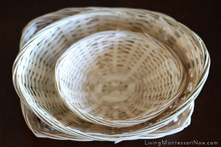 Montessori Services Baskets