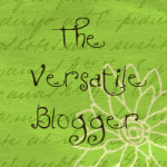 Versatile Blogger Award to Happily Pass On