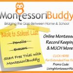 $50 Amazon Gift Card Giveaway and MontessoriBuddy Sponsor Spotlight