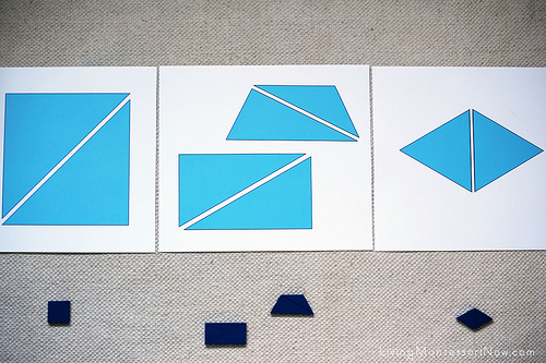 Blue Constructive Triangles Extension - Layout