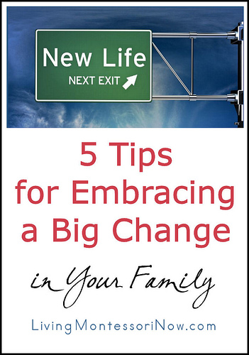 5 Tips for Embracing a Big Change in Your Family