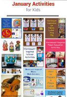 January Themed Activities for Kids