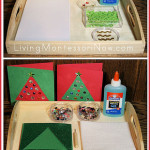 Montessori-Inspired Christmas Cards and Crafts