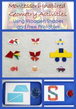 Montessori-Inspired Geometry Activities Using Wooden Shapes and Free Printables