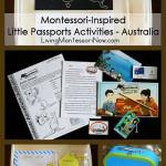 Montessori-Inspired Little Passports Activities – Australia