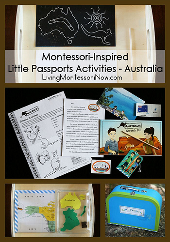 Montessori-Inspired Little Passports Activities - Australia