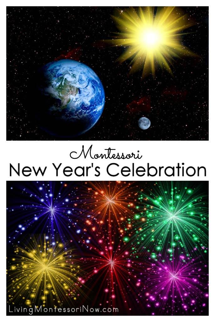 Montessori New Year's Celebration
