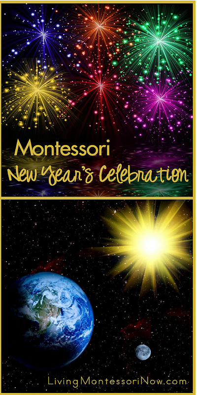 Montessori New Year's Celebration