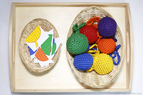 Yarn Color Puzzles and Yarn Balls