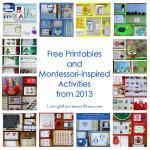 Montessori Monday – Free Printables and Montessori-Inspired Activities from 2013
