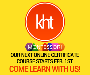 KHT Montessori 12 Month Certification Program