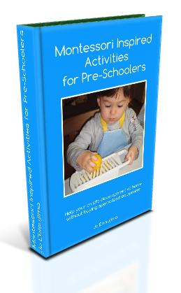 Montessori Inspired Activities for Pre-Schoolers