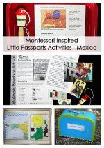 Montessori-Inspired Little Passports Activities – Mexico