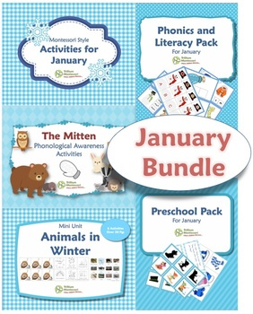 Trillium Montessori Winter-Themed Bundle
