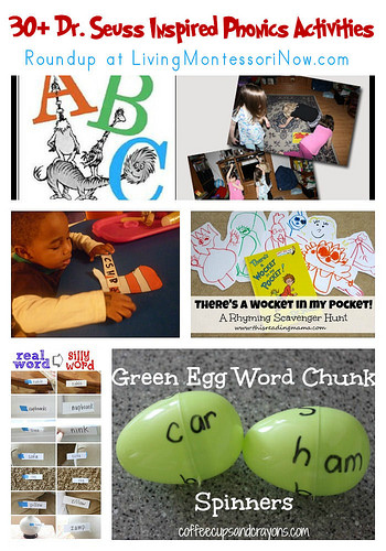 30+ Dr. Seuss Inspired Phonics Activities
