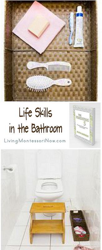 Montessori Monday – Life Skills in the Bathroom