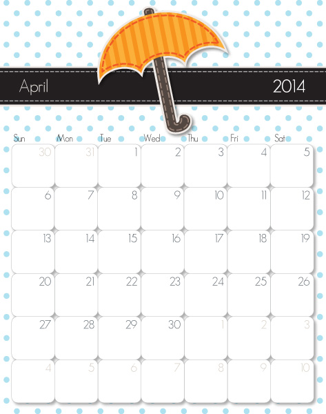 Calendar Monthly Observances : Monthly observances just b use