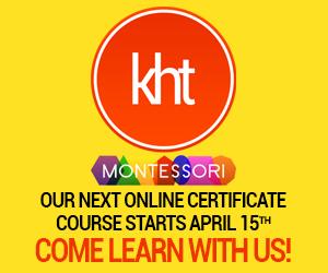 KHT Montessori April Course
