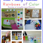 Montessori Color Mixing Activities – Rainbows of Color