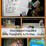 Montessori-Inspired Little Passports Activities – India