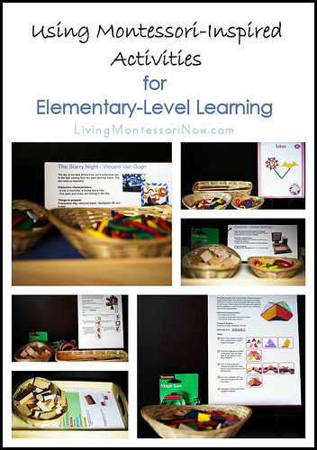 Montessori Monday – Using Montessori-Inspired Activities for Elementary-Level Learning