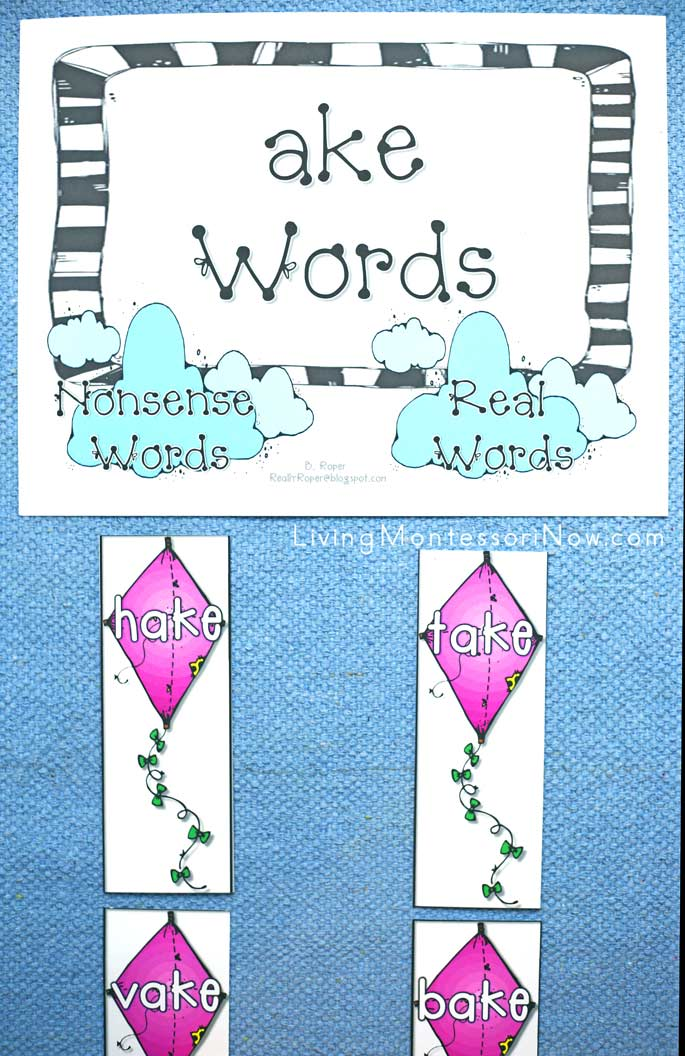 Ake Words Layout